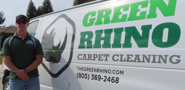 Green rhino carpet cleaning Paso Robles