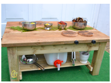Mud Kitchen Table