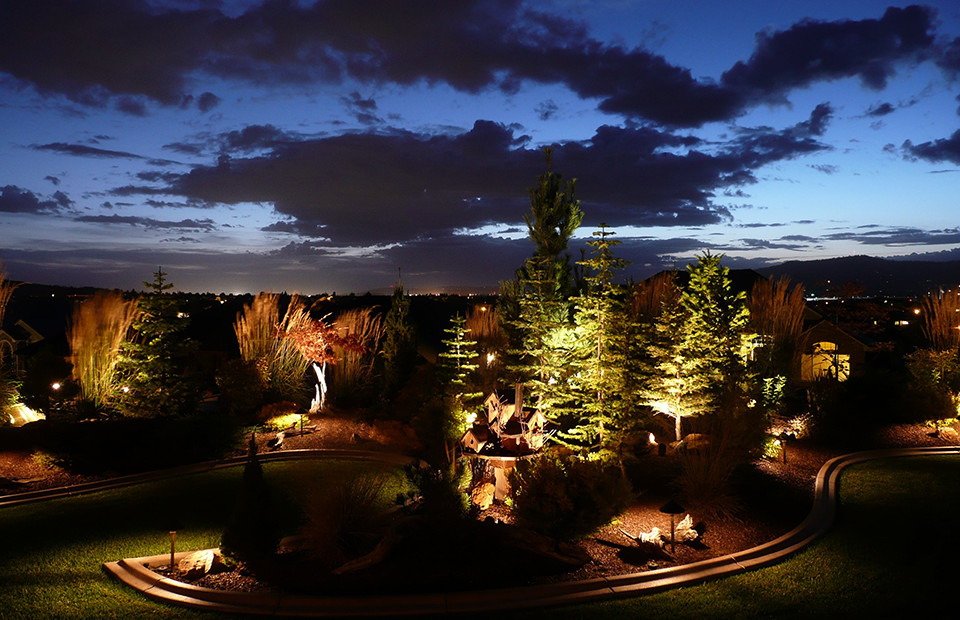 Professional landscape lighting design and installation aloadofball Images
