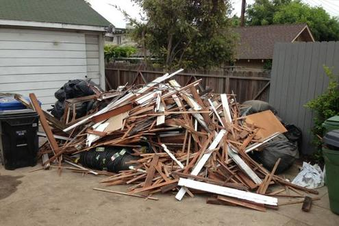 Debris Removal Demolition Debris Removal Wood Construction Debris Haul Away Renovation Debris Removal Service and Cost in Omaha NE | Omaha Junk Disposal