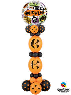 Halloween Icons Column approx 5' tall
