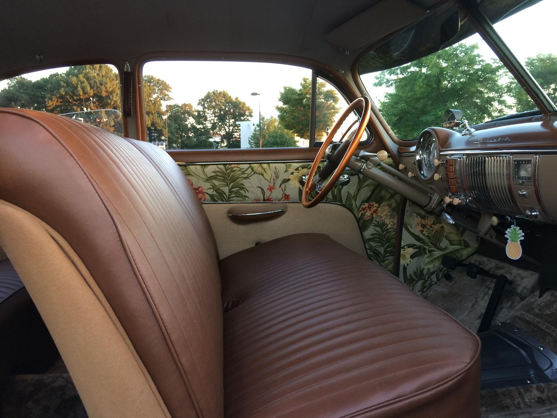 1949 Chevy Styleline Deluxe Steering Wheel Full Custom Interior