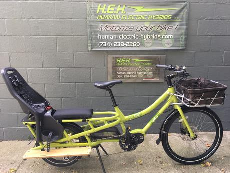 Electric Cargo Bicycle YUBA Spicy Curry