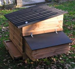 A wide range of chicken coops and hen houses for sale at Chickenfeathers