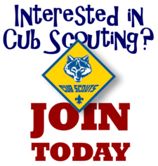 Join Charlotte Cub Scouts
