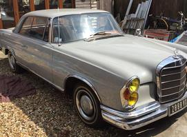 1965 Mercedes Benz 220 SE b Coupe