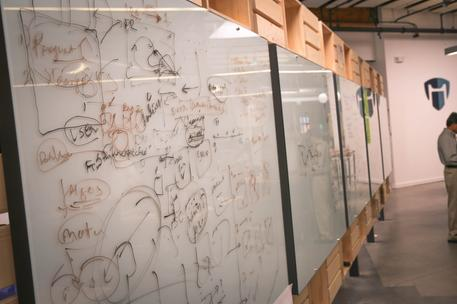 startup whiteboard inide accelerator in san francisco bay area