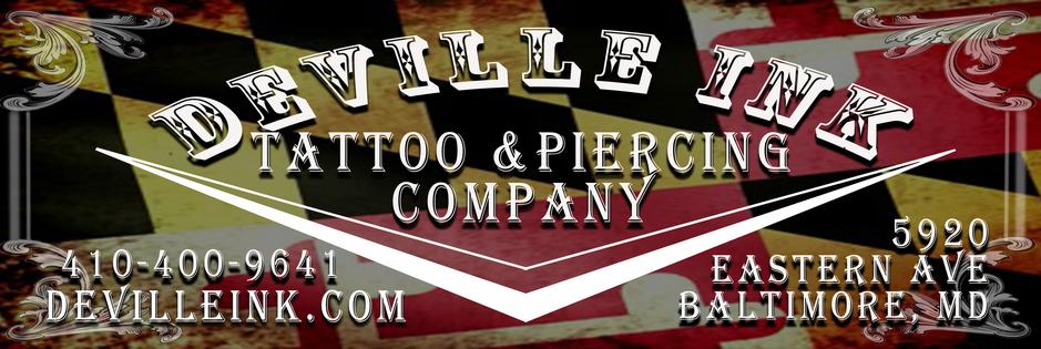 Baltimore Maryland DeVille Ink Logo