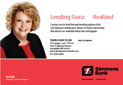 Tamra Dean Simmons Bank