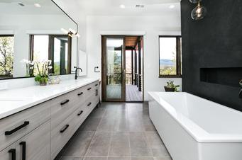 Kitchen and bath remodels more brothers construction for Bath remodel albuquerque