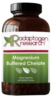 Adaptogen Research, Magnesium Buffered Chelate