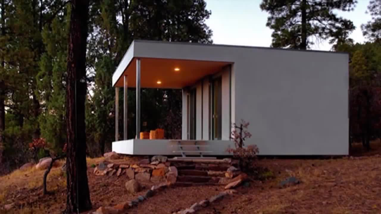 Micro Home the transportable aph80 home from spanish firm abaton takes between six and eight weeks to build About