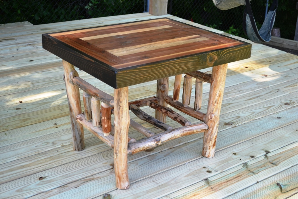 Log End Table Inventory