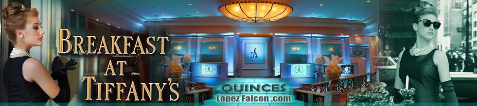 Quinceanera Party Breakfast at tiffanys tiffany and co Quince Parties Theme Ideas Quinceañera Celebration Party Themes Tips for Dresses Choreography Cakes Quinces Stage & Decoration