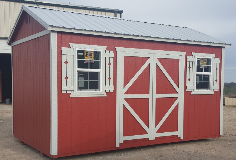 gallery kit shed sheds metal loafing