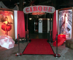 Vintage Circus Themed Prom Decor for a Nashville Prom