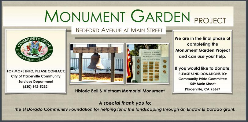 Monument Garden Project Healing Garden Fundraising A Place of Peaceful Reflection
