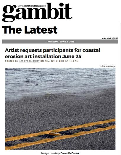 http://www.bestofneworleans.com/blogofneworleans/archives/2016/06/02/artist-requests-participants-for-coastal-erosion-art-installation-june-25