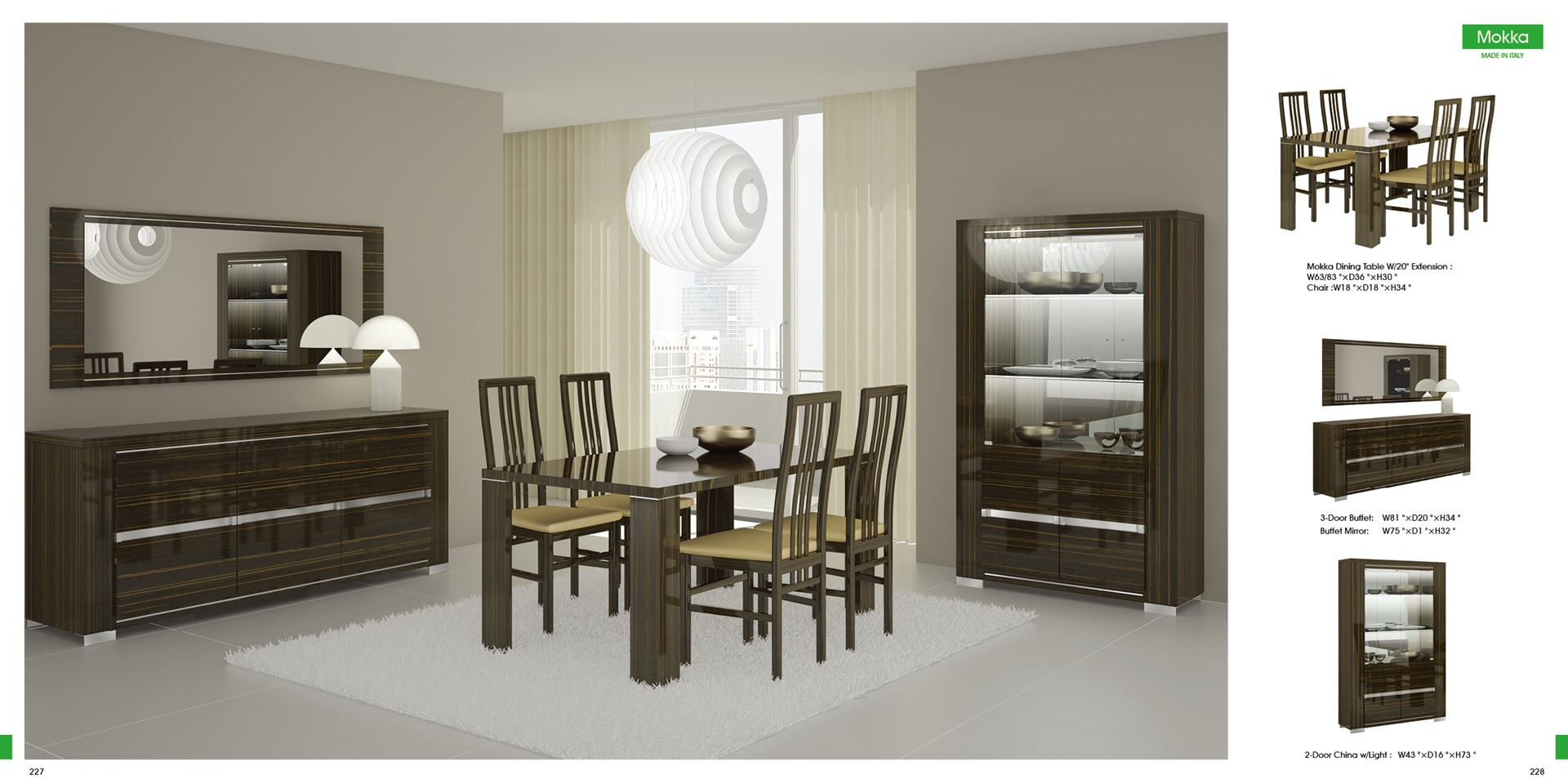 dining room furniture sets arte interiors chicago furniture
