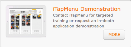 Schedule an iTapMenu Demo