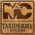 mctaxidermy logo, Taxidermy logo,