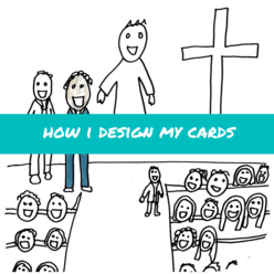 how i design my cards