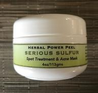 Herbal Power Peel Serious Sulfur Spot Treatment and Acne Mask