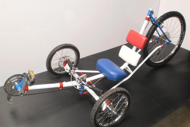 Diy recumbent tricycle kit human powered sports car do it yourself recumbent tricycle solutioingenieria Images