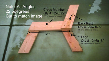 How to make a DIY convertible picnic table that folds into bench seats. Free Plans. www.DIYeasycrafts.com