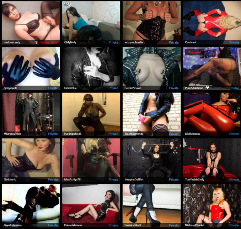 dominatrix cams, live dominatrix