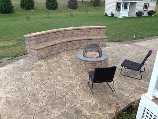 Excellent Stamped Concrete Patio Contractor and Pricing in Bennet NE| Lincoln Handyman Services