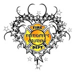Firefighters Girlfriend Tattoo Design