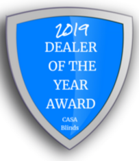 2018 Blinds and Shutters dealer of the year