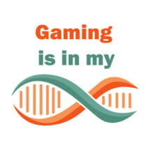 Gaming Is In My DNA Sticker