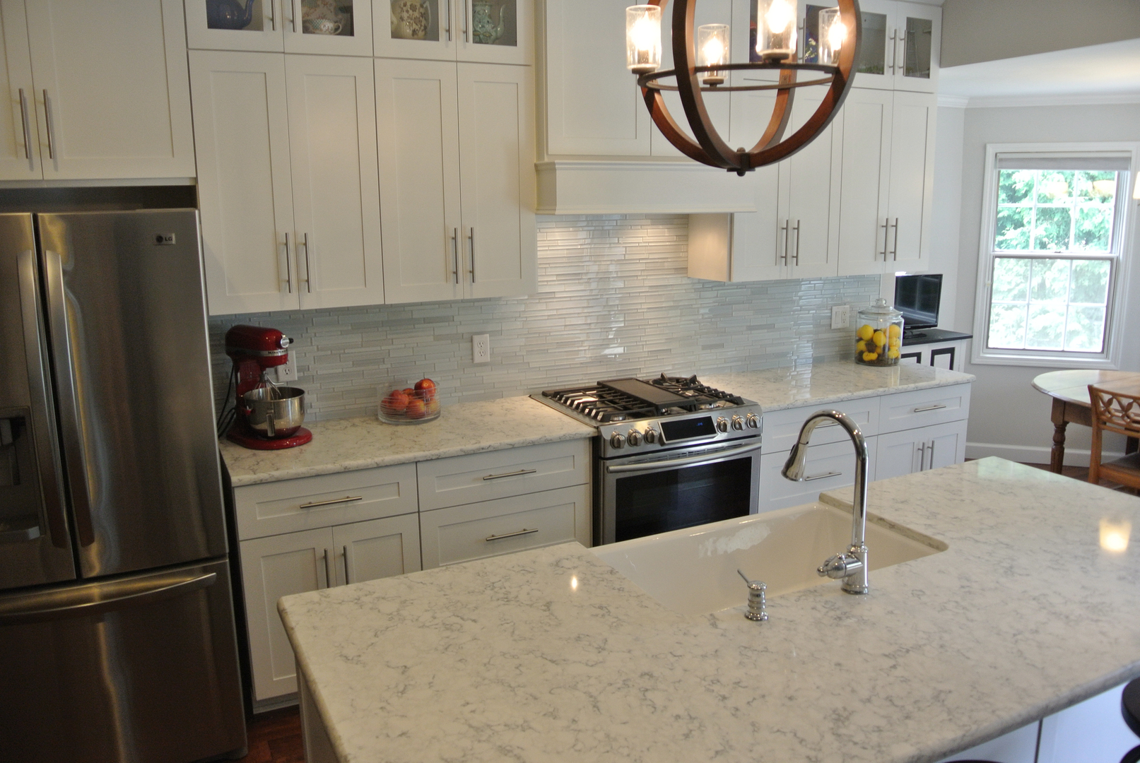 with quartz domestic chestnut solid countertops surface and countertop cabinets vs kitchen