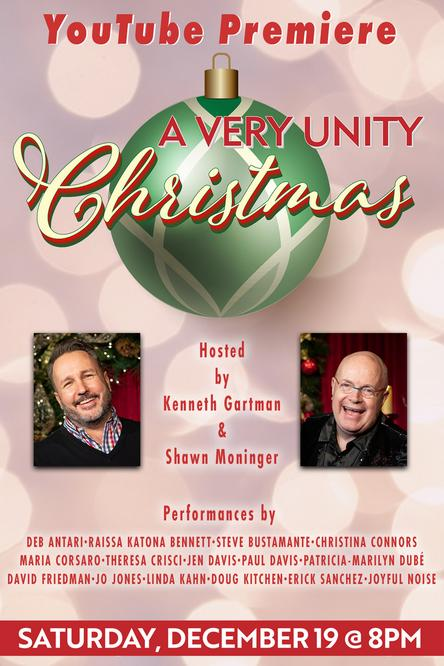 A Very Unity Christmas hosted by Kenneth Gartman and Shawn Moninger