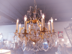 Crystal Chandelier and Cieling Fixture Repair, Restoration, Transportation, Installation
