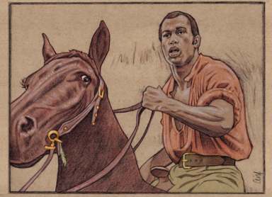Ken Norton in MANDINGO by Cliff Carson