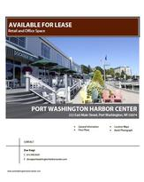 Port Washington Harbor Center Suite Brochure