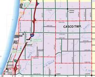 Casco Zoning Map