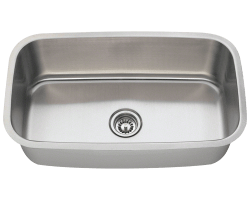 Solaris 813 Single Bowl Stainless Steel Sink Extra Large