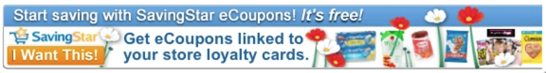 SavingStar Electronic Coupons