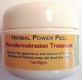 Herbal Power Peel Microdermabrasion container