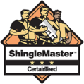 AKW Construction is ShingleMaster certified in roofing.