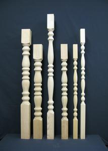 Provincial detail balusters