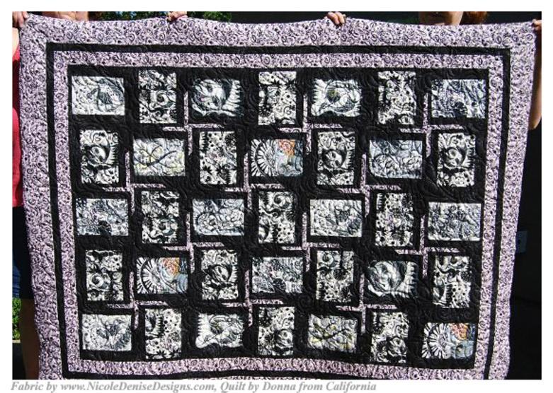 Nicole Denise Designs- Face The Music Fabric- Music Notes ... : cornerstone quilt shoppe - Adamdwight.com
