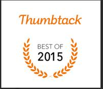 Best of Thumbtack 2015 award