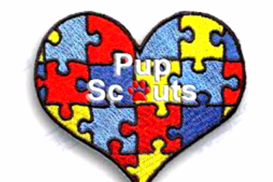 pupscouts,dogs,badge,scouts