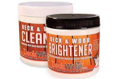 Deck & Wood Cleaner & Brightener