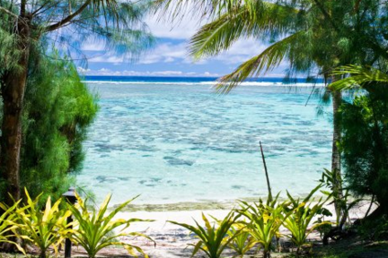 image of a Cook Islands beach location Tikioki, Rarotonga